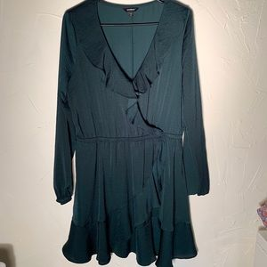 Emerald Green Large Express Dress